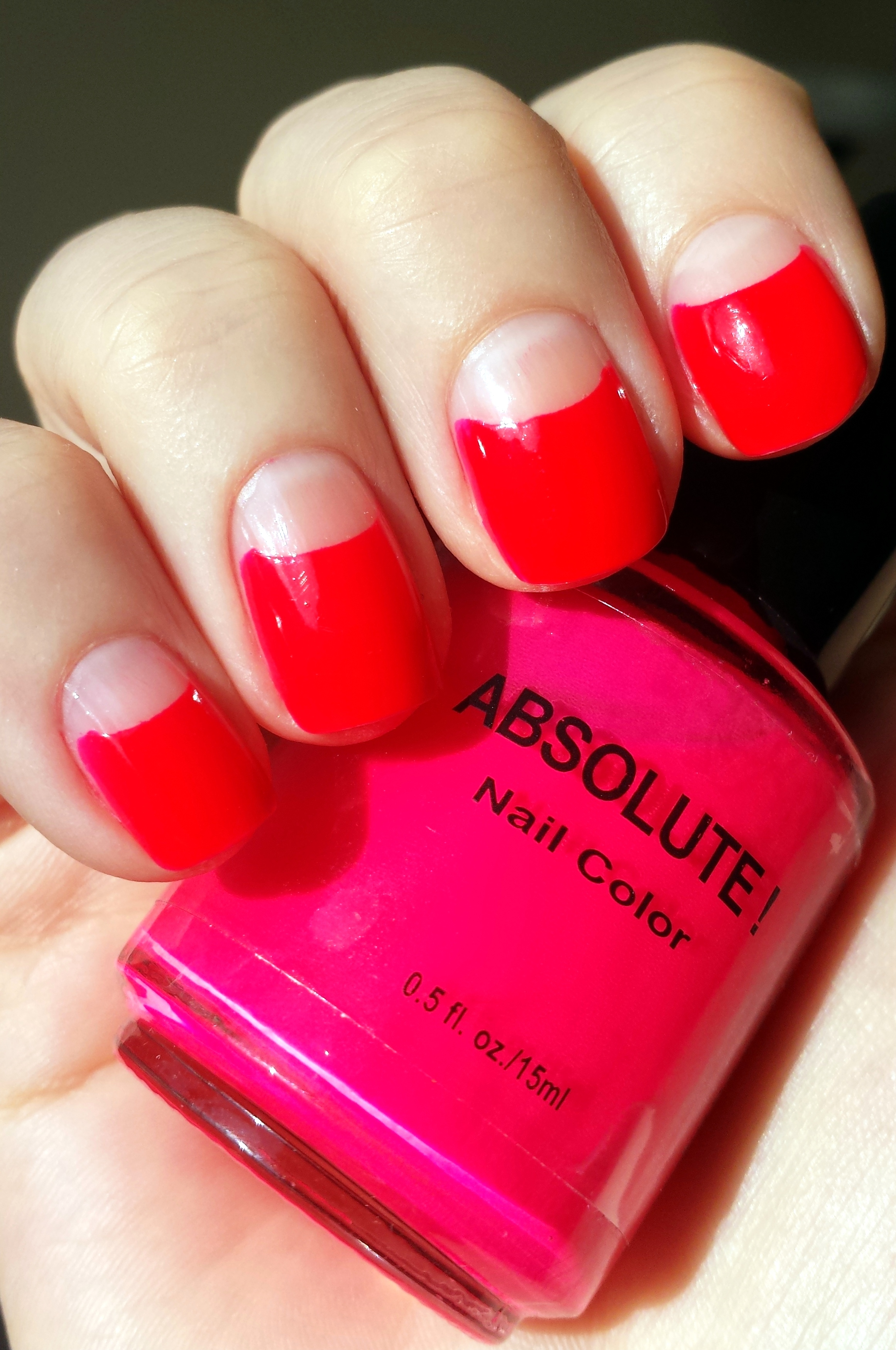 GOT Polish Challenge: Hot Pink with Absolute! Neon Nail Color in ...